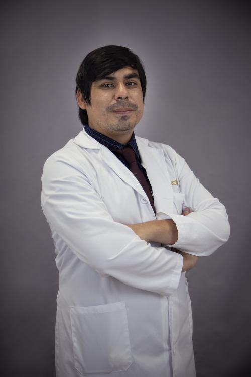 Jonathan Delgado Gil, servicio de Otorrinolaringología