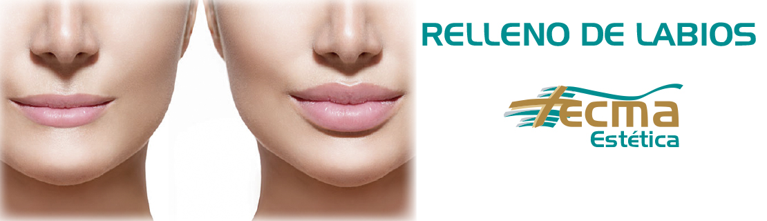 Relleno de labios cirugía estética en Alzira