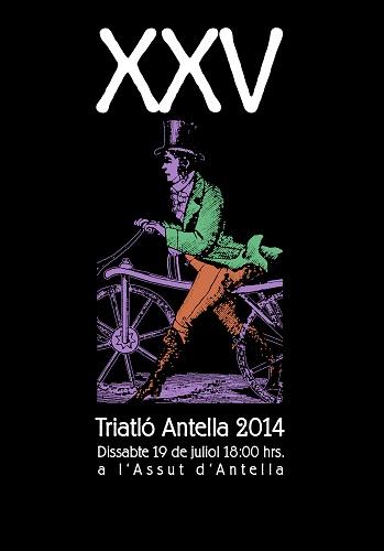 Antella celebra la XXV edición de su triatlón