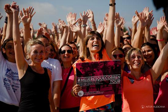 Mujeres y running