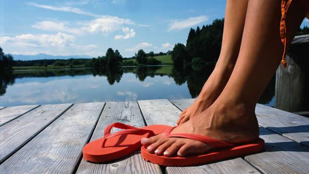 En verano hay que prestar atención al calzado adecuado