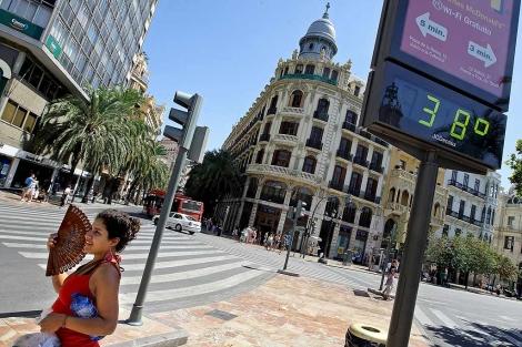 Cómo combatir la ola de calor que sufre Valencia