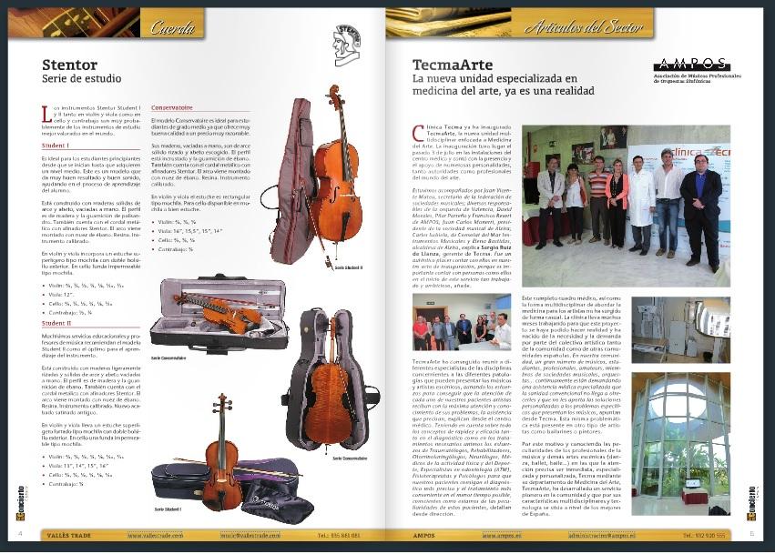 Tecma Arte en revistas especializadas