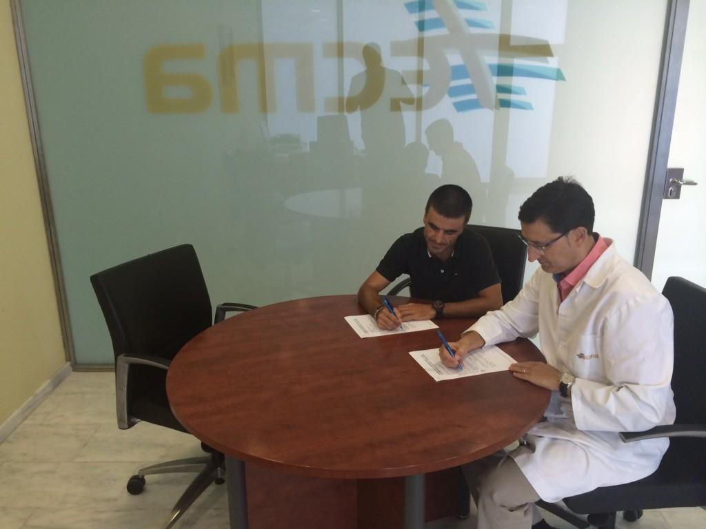 Tecma firma un convenio de colaboración con el Safor Delikia