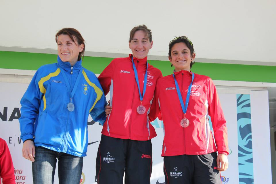 10K Divina Pastora de Valencia con presencia de clínica Tecma y su atleta Davinia Albinyana