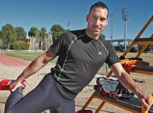 El reto de Luis Miguel Sabater, deportista de elite de Gandía