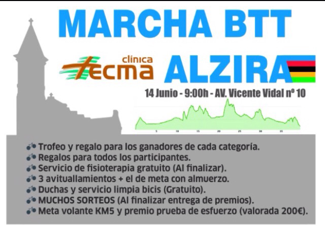 1ª BTT Tecma Alzira - Una apasionante prueba recorerá las calles de Alzira
