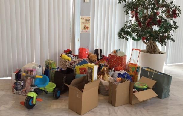 Campaña recogida de juguetes en la Ribera