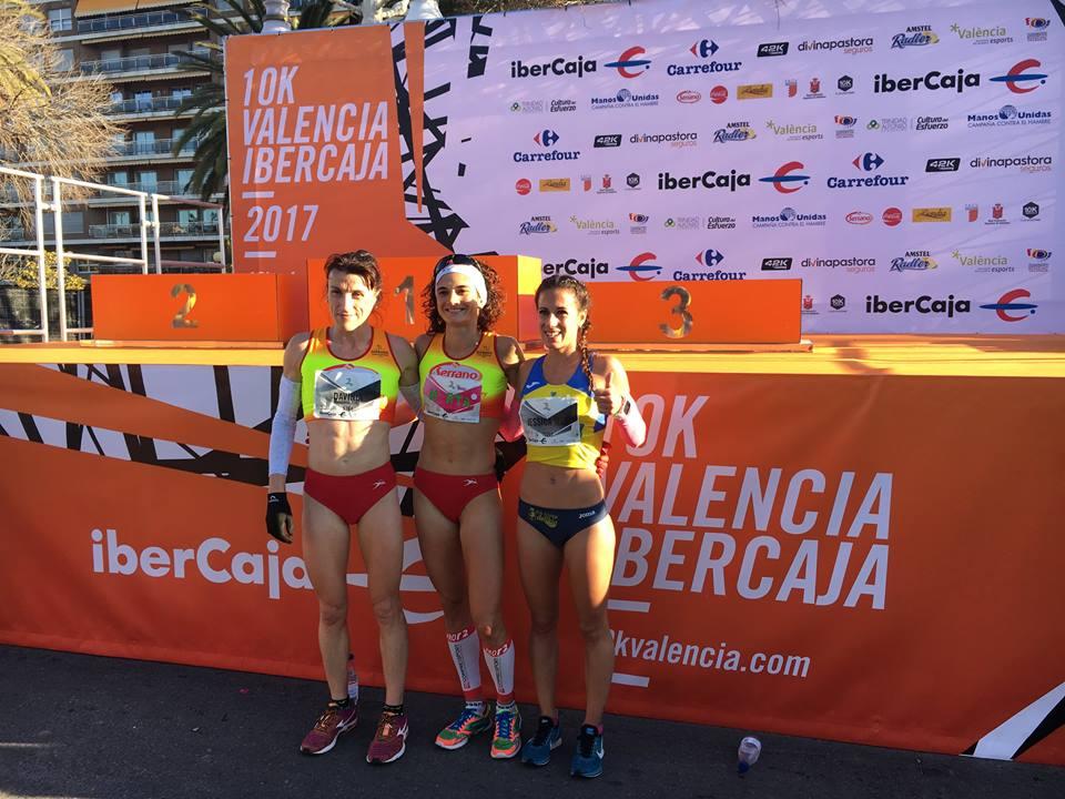 Davinia Albinyana segunda en la 10k Valencia Ibercaja