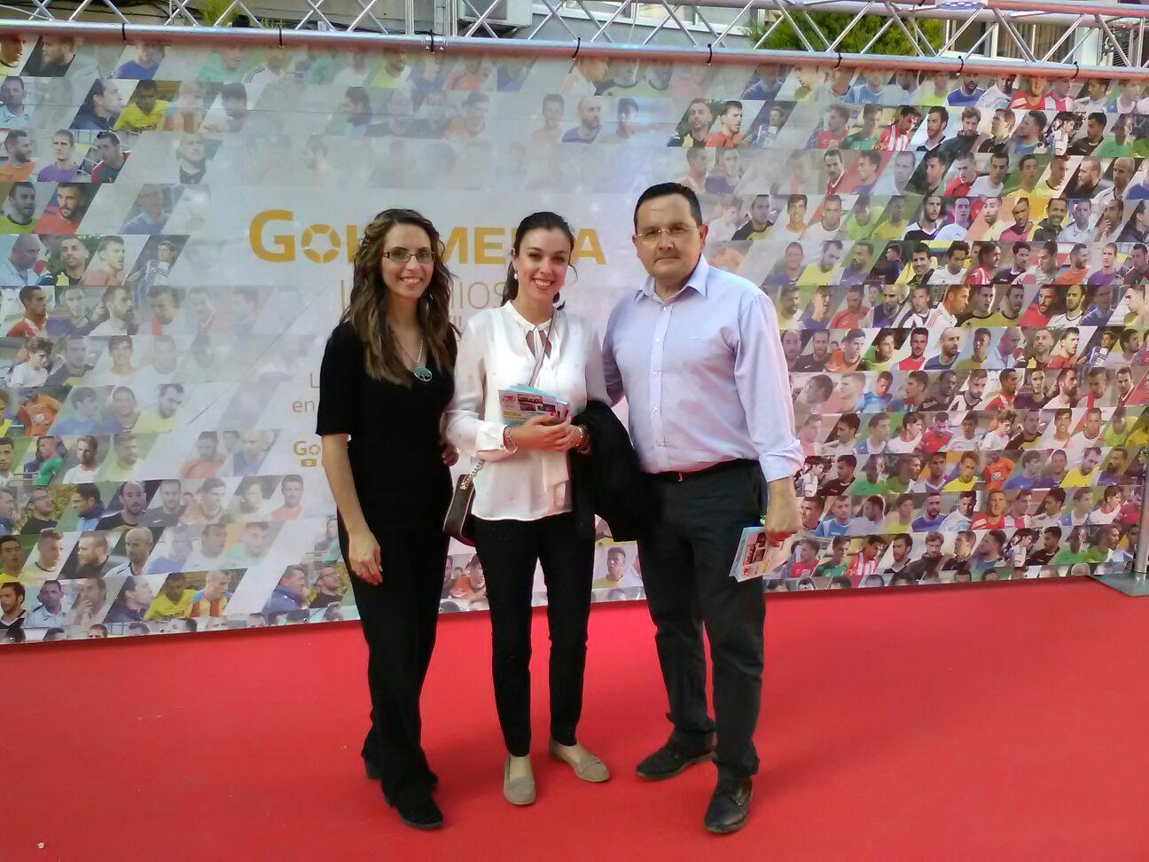 Clínica Tecma en la Gala Golsmedia del Deporte Valenciano