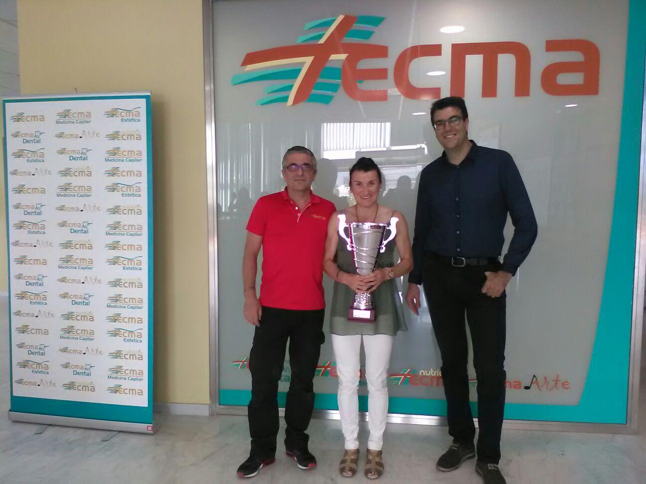 Davinya Albinyana ganadora de la 35 Volta a Peu