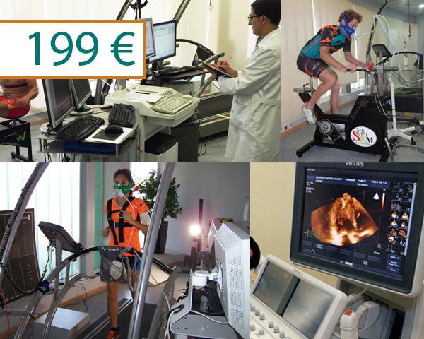Prueba de esfuerzo Completa + Ecocardiografía