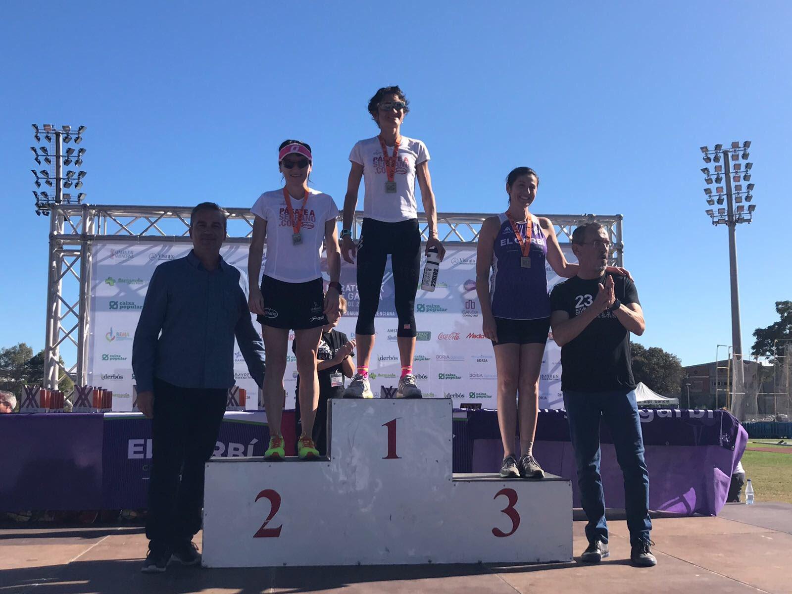 Davinia Albinyana segunda en la media Maratón de Gandía