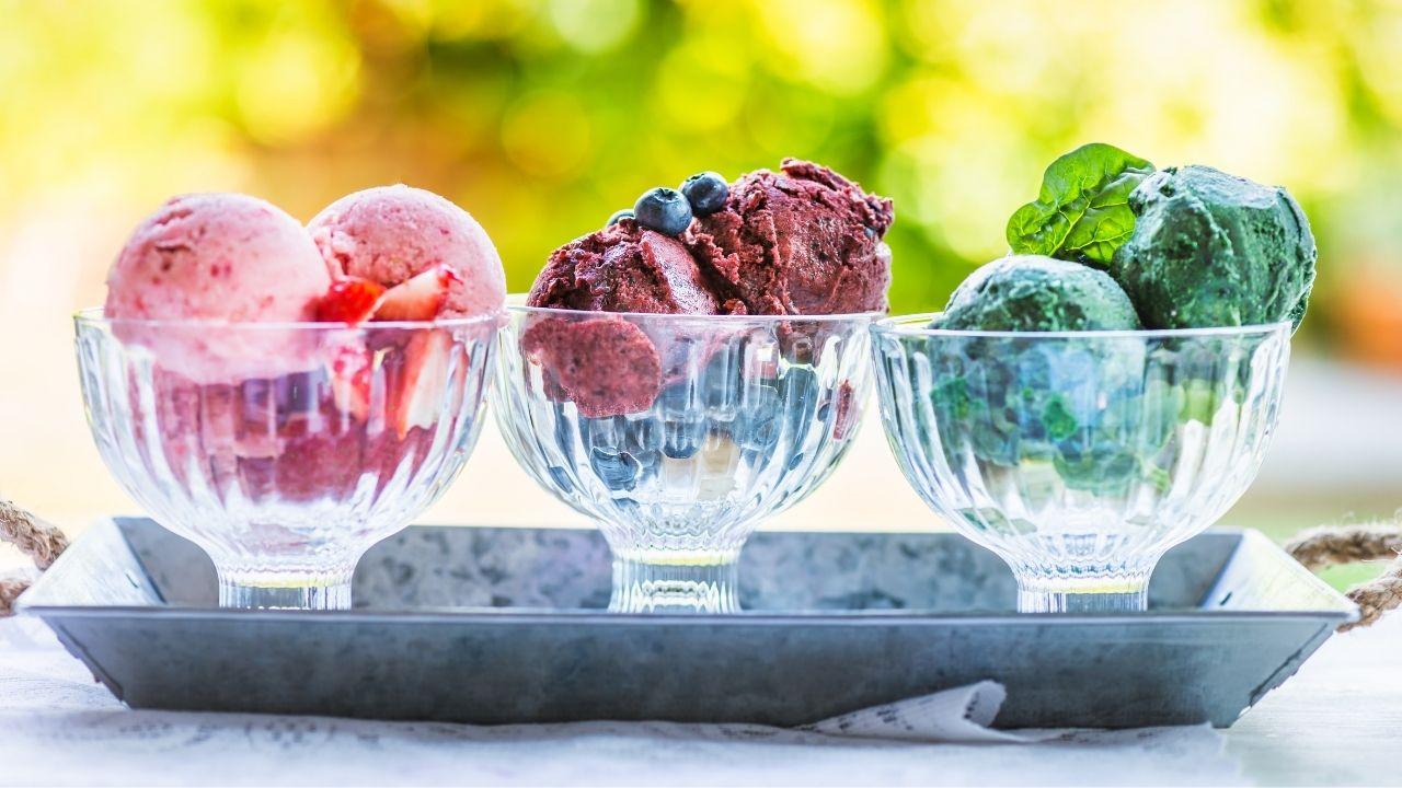 preparar helados saludables naturales