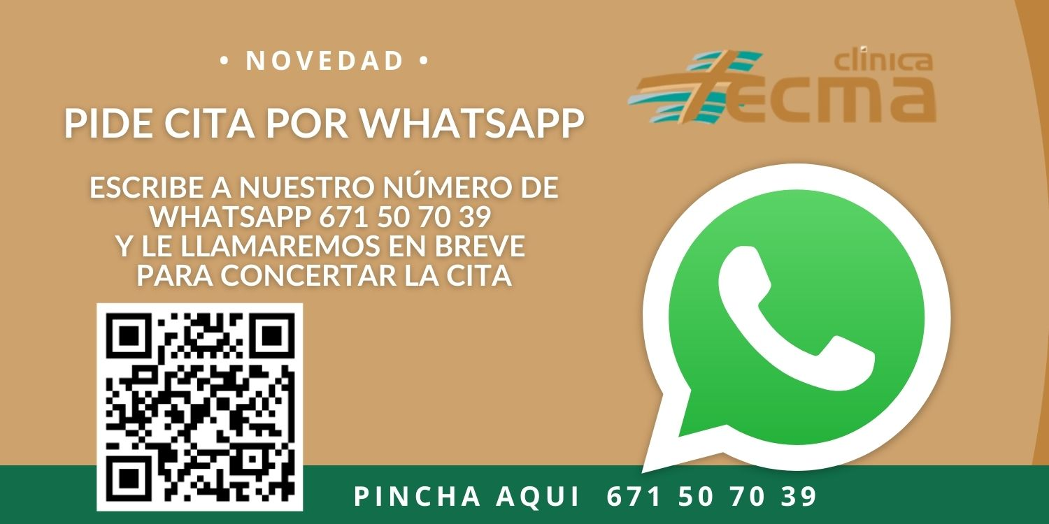 clinica tecma whatsapp